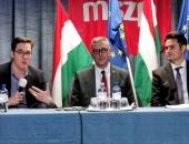 Karácsony Gergely és Márki-Zay Péter Győrben erősítette a hétvégi választást