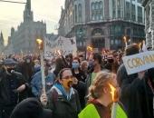 Tízezres tömeg tüntetett Budapesten október 23-án az SZFE mellett, a kormány ellen