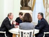 Orbán Putyin előtt: 45 percre magukra zárta az ajtót az orosz elnök