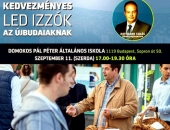 Az újbudai polgármester ingyenkrumpli után villanyégőkért gyűjti a támogatást