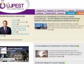 Politikai gengszterek: a bukása után egy héttel még mindig a fideszes polgármester köszönti az újpestieket a honlapon
