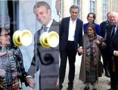 Heller Ágnest az Élysée-palotában fogadta Macron