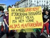 """Bayer Zsolt: """"A kurv@ anyját mindegyik tüntetőnek"""""""